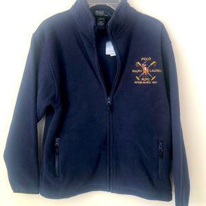 POLO RALPH LAUREN boy FLEECE JACKET Coat 12/14 NWT